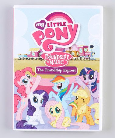 Take a look at this My Little Pony Friendship Is Magic: The Friendship Express DVD by My Little Pony on #zulily today!