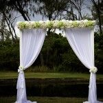White Arbour Philip Park Wedding