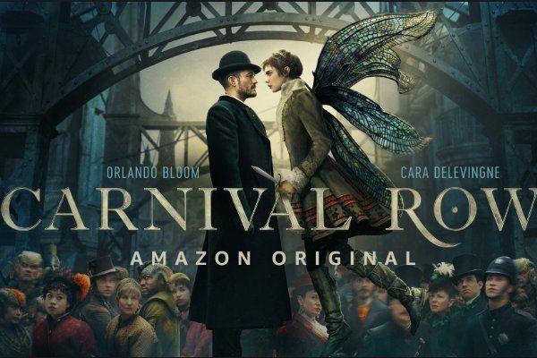 Crea Llamativo Arte Grafico Para Carnival Row Amazon Prime Shows