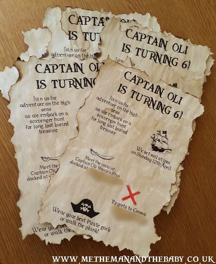 Pirate Party Invitations                                                                                                                                                      More
