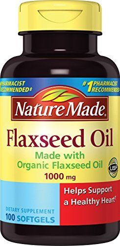 "Made with organic flaxseed oil. Omega-3 for heart health   	 		 			 				 					Famous Words of Inspiration...""All our knowledge has its origin in our perceptions.""					 				 				 					Leonardo da Vinci 						— Click here for more from Leonardo da... more details at http://supplements.occupationalhealthandsafetyprofessionals.com/herbal-supplements/flaxseed/product-review-for-nature-made-flaxseed-oil-1000mg-100-softgels/"