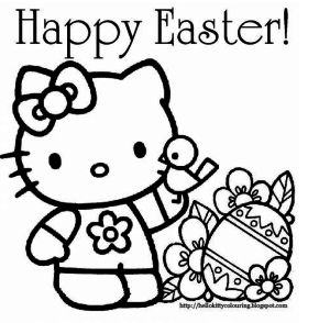 FREE Easter Coloring Pages!