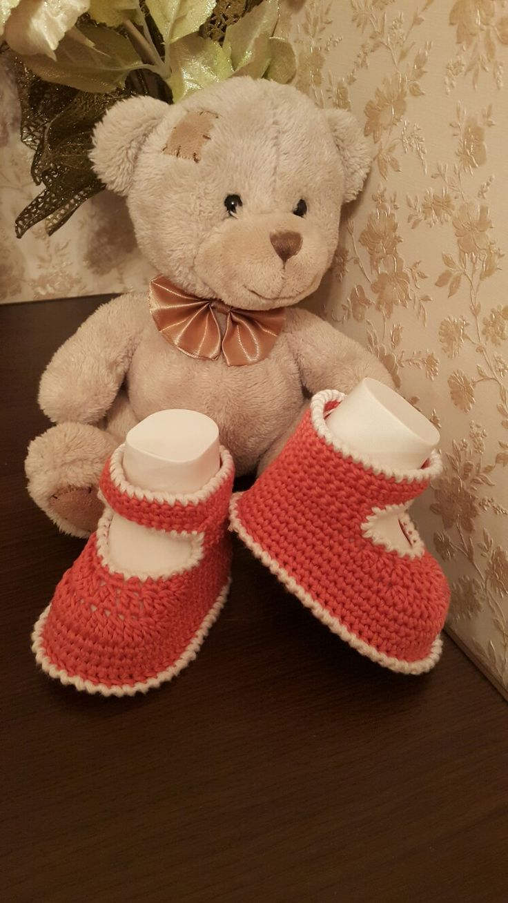 41 besten Baby booties Bilder auf Pinterest | Babyschühchen ...