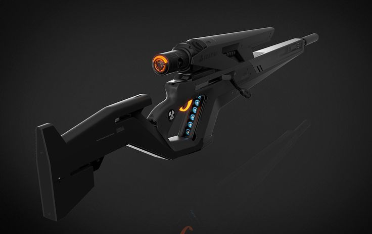 Unreal Tournament Sniper Rifle, Aberiu (Alex) on ArtStation at https://www.artstation.com/artwork/unreal-tournament-sniper-rifle