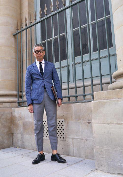 ... #firenli  neoretrostreetstyle:  Takahiro Kinoshitastyle, Paris! Modern Ivy, Nice about Mr. Kinoshita!