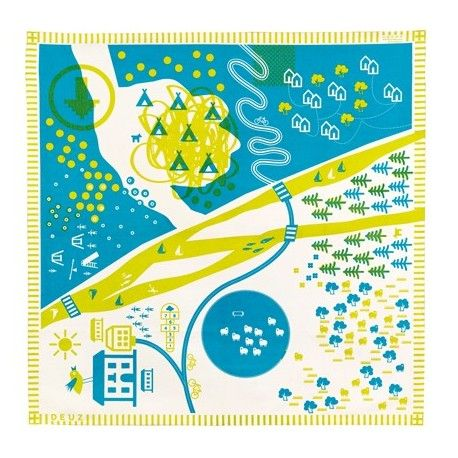 Deuz tapikid speelkleed nature