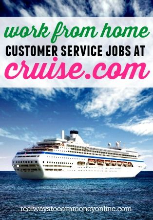 Are you an experienced cruise industry professional? Are you someone who really enjoys and excels at customer service? Are you ready to work from home as an employee with benefits instead of an ind...