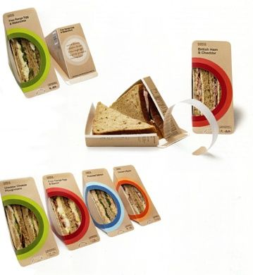 25+ best ideas about Sandwich packaging on Pinterest | Clever ...