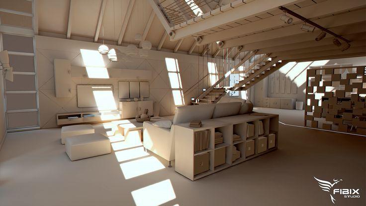 ArtStation - Loft Apartment, Jan Petrák