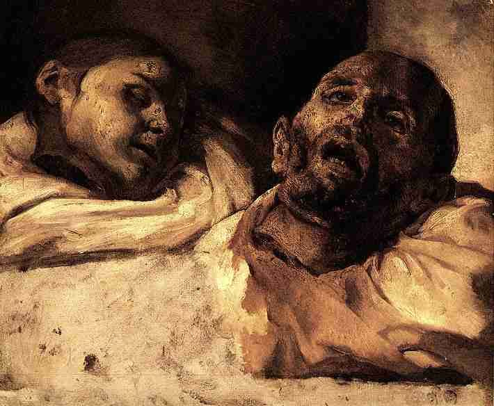 Morbid as Hell, but it's always been a fave.     by Theodore Gericault, Severed Heads