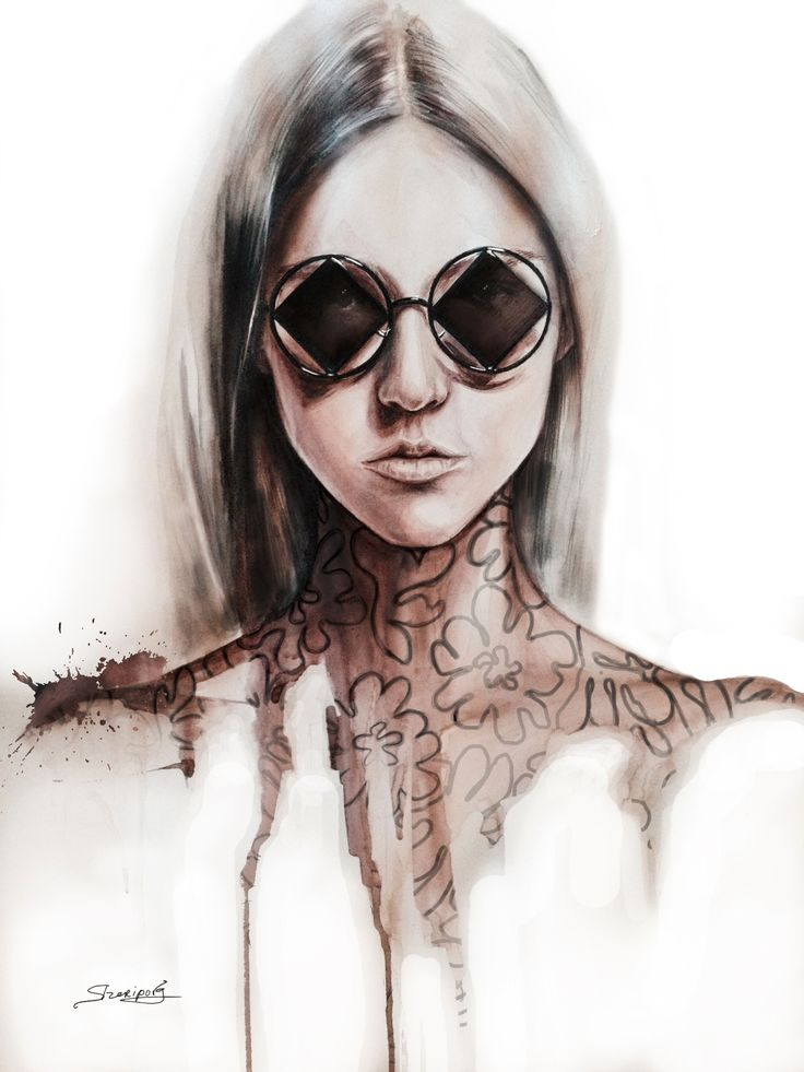 #fashion illustrations #fashion #moda #elina #sheripova #art #illustrations