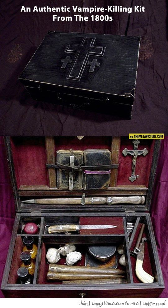 Authentic Vampire Killing Kit from the 1800's
