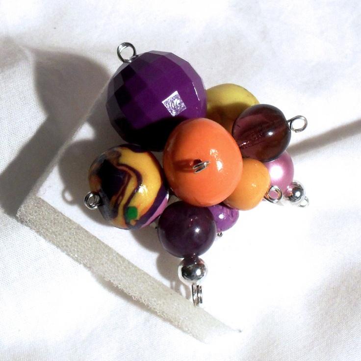 Fantasia arancio e viola, by Cates Creation, 8,00  su misshobby.com