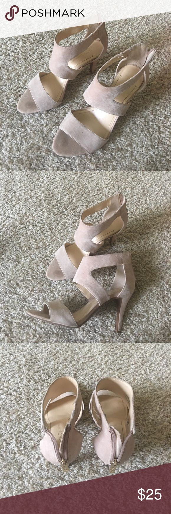 BCBG high heels summer shoes Size 6, bought from DSW, loving this shoes, only wore twice. Perfect condition. Very beautiful BCBGeneration Shoes Heels