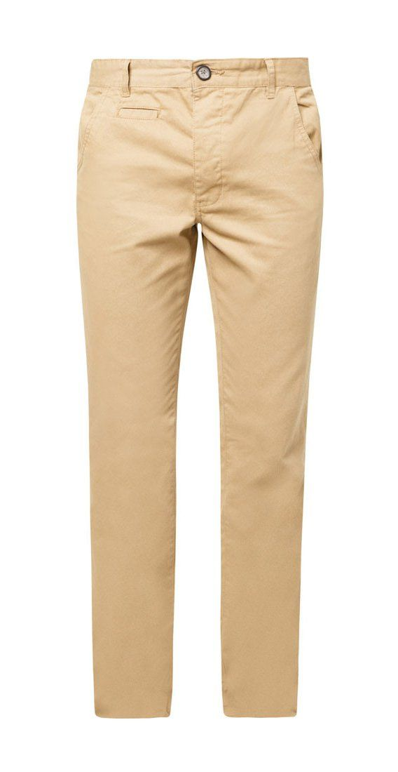 Stone Classic Straight Leg Chinos by New Look. Basic pants that made from cotton, khaki color, classic straight chino pants for everyday use, button and front zipper, 5 belt loops, pockets, slim fit, perfect pants for casual style.   http://www.zocko.com/z/JICNG