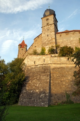 The Veste Coburg in Oberfranken is one of the most daunting castles in Bavaria.  Construction of this magnificent fortress was begun in the 11th century. Martin Luther actually lived here in the 1530's for six months.