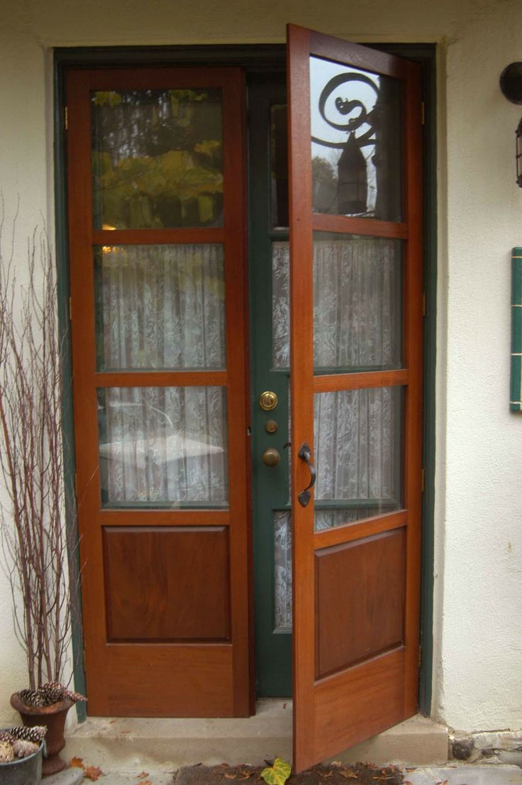 Best 25+ Wood french doors exterior ideas on Pinterest | Exterior ...