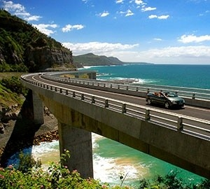 4 Wheel Drive >> Sea Cliff Bridge on Grand Pacific Drive on the South Coast, Australia. | 4 Wheel adventures ...