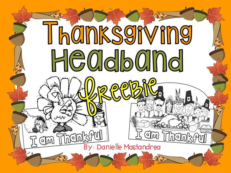 Thanksgiving Headband FREEBIE!