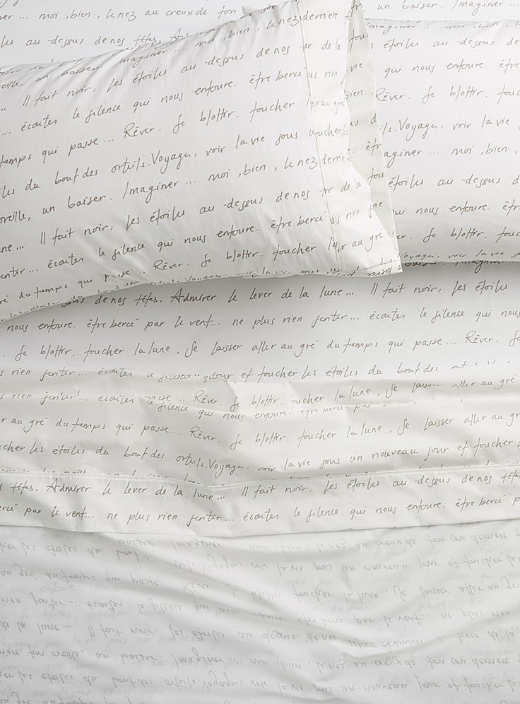 Sweet words percale plus sheet, 200 thread count Fits mattresses up to 15 in. - Sheets & Pillowcases - Assorted