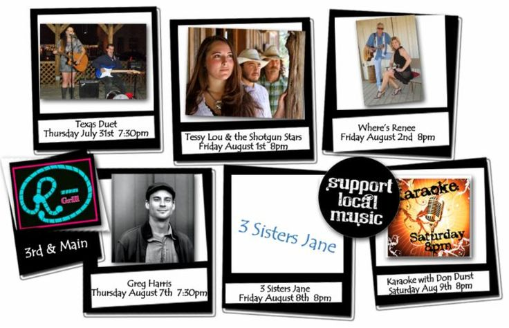 RBar & Grill – ROCKIN' with Live Music!  Play & Dine LOCAL in Marble Falls at RBar & Grill 3rd & Historic Main Historic Main Street Marble Falls Tessy Lou & Tessy Lou and the Shotgun Stars Play Tonight!!!!!!!!!!!!!!!!!!!!!!!!!!!!