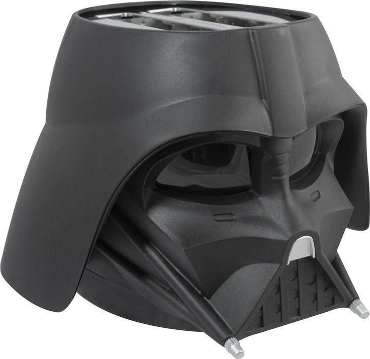 Pangea Brands - Darth Vader 2-Slot Toaster - Black