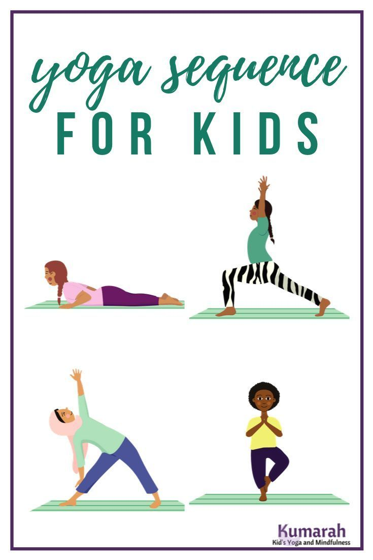 Kids Yoga Sequences That Keep Kids Engaged Yoga For Kids Yoga Sequences Kids Learning Activities