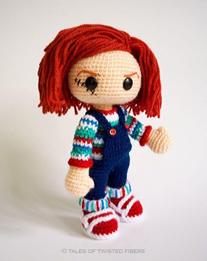 вязаная кукла крючком схема