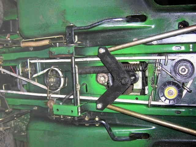 F E C C A Fec E Yellow Belt John Deere on John Deere Stx38 Drive Belt Diagram