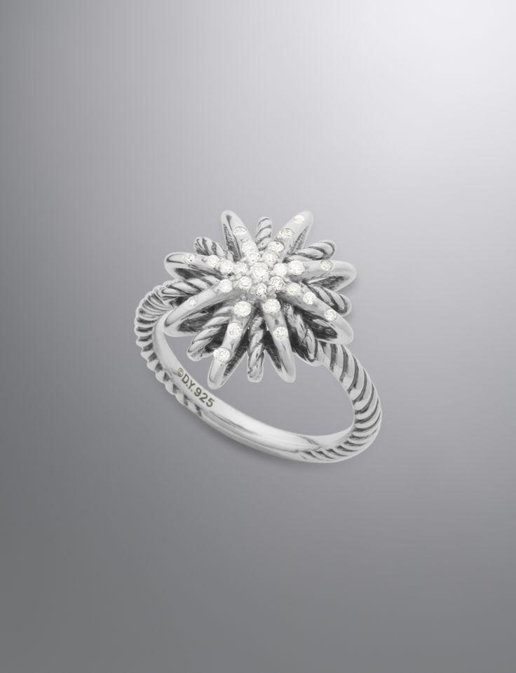 Starburst Ring, Diamond, 16mm