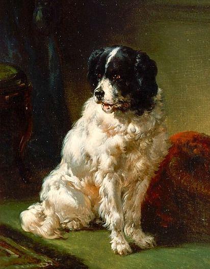 Wouterus Verschuur  The Painter's Dog  19th century