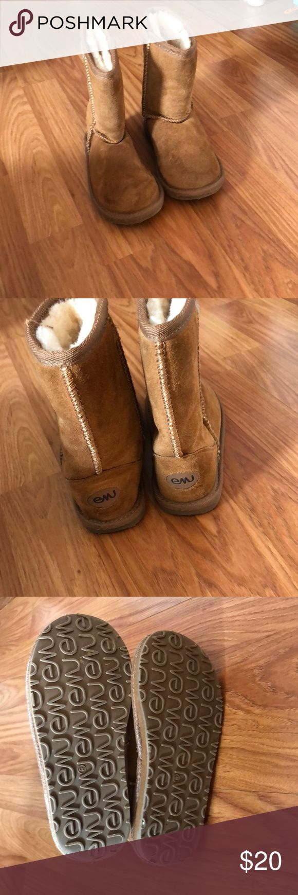 EMU brown boots Brown EMU boots size 10. Excellent condition. Barely worn Emu Shoes Boots