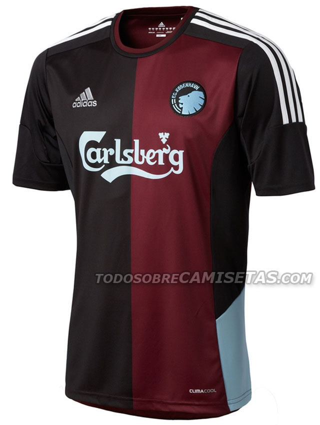 FC København - most awesome away jersey designed by WoodWood
