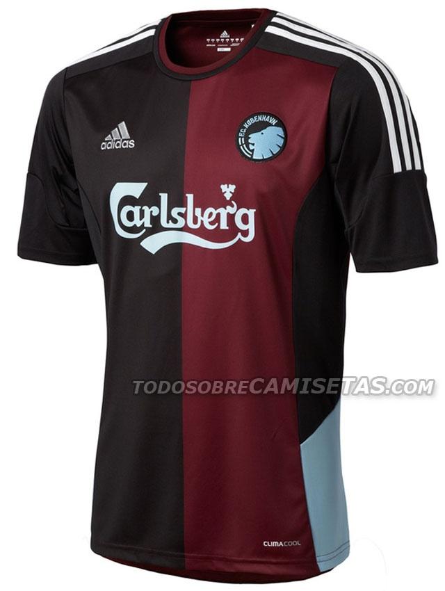 Todo Sobre Camisetas: FC København Adidas 3. trøje 2012/2013