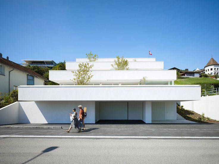 best architects architektur award // Marques Architekten / / Three terrace apartments / Wohnungsbau/Mehrfamilienhäuser