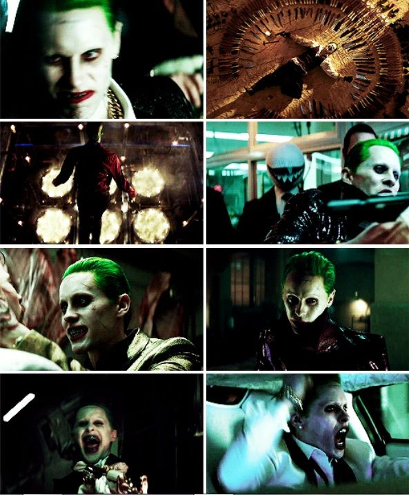 "Jared Leto as Joker in ""Suicide Squad"""
