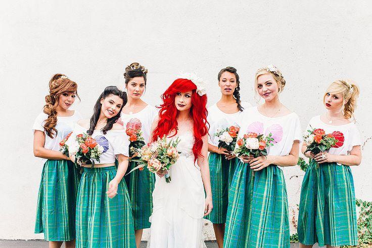 Hipster Little Mermaid Wedding | POPSUGAR Love & Sex