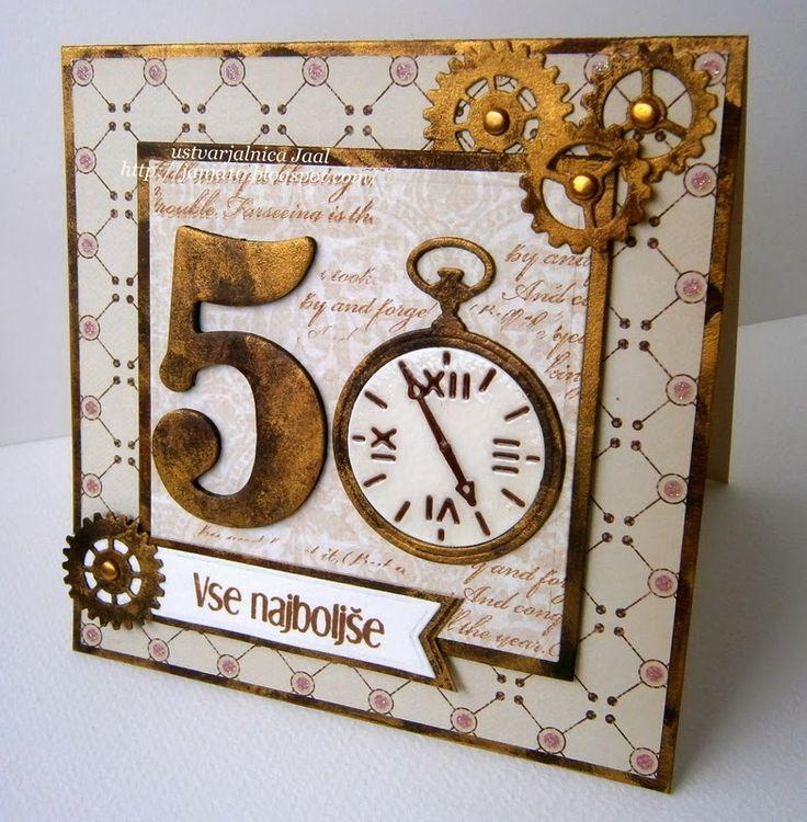 Приколы, открытки ручной работы с 50 летием
