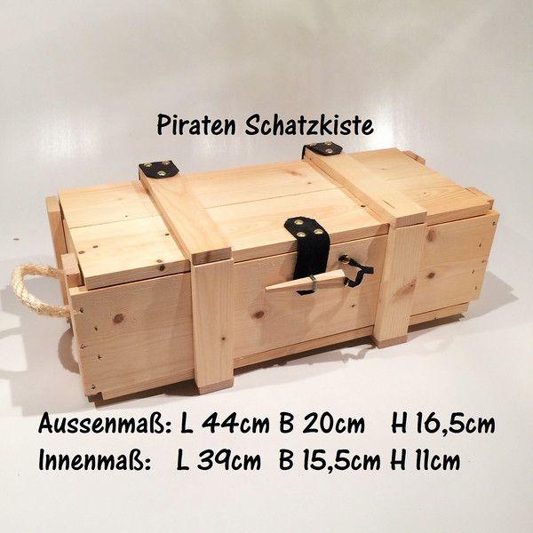 Holzspielzeug Weinkiste Schatzkiste Aufbewahrung Holzkiste Ein