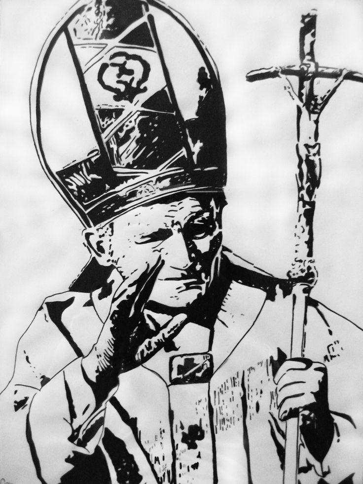 Giovanni Paolo II - Inchiostro (2006)