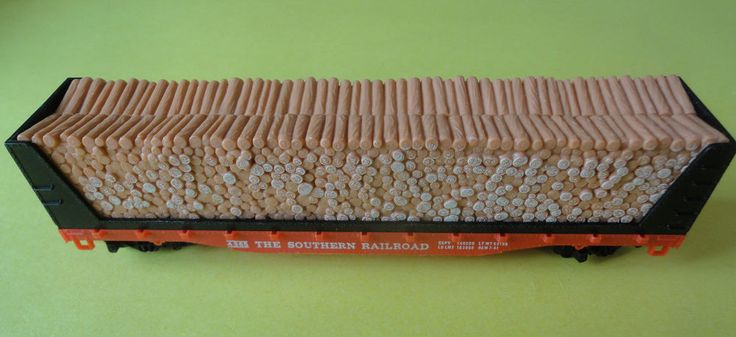 Vintage Tyco The Southern Railroad Pulpwood Freight Car No. 4365 c/w box  #Tyco