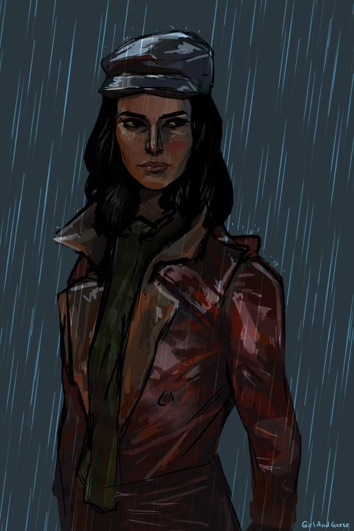 """girlandgeese: """" Piper; Fallout 4. Photoshop. """""""
