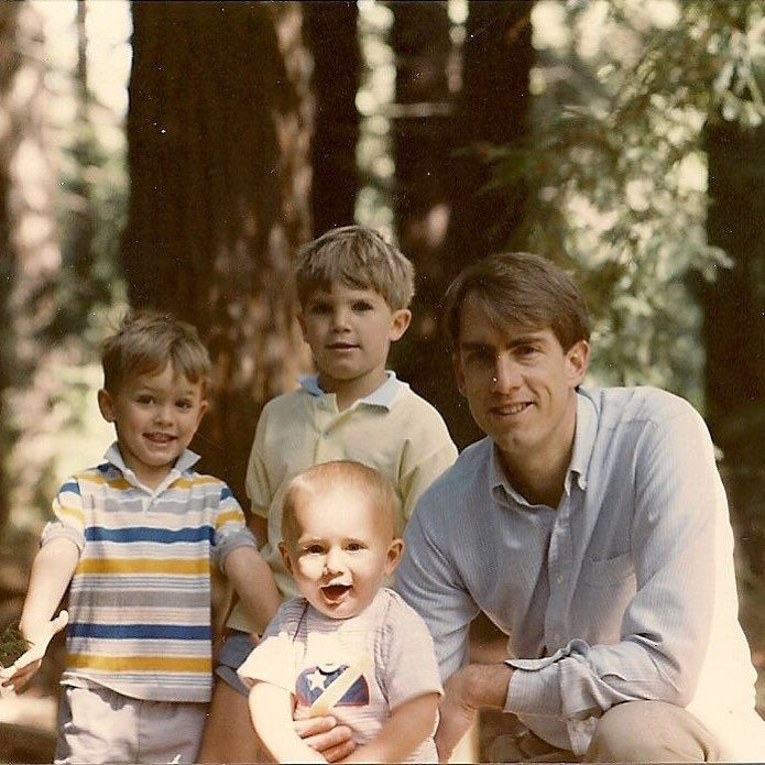 In honor of Father's Day we're sharing a throwback photo of our CEO & CTO with their brother and father! Happy Father's Day to all the incredible Dads out there who encourage and inspire us daily! ❤️