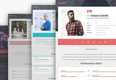 8 Best Ideas For Making A Resume Webpage Images By Sameh Khalil On