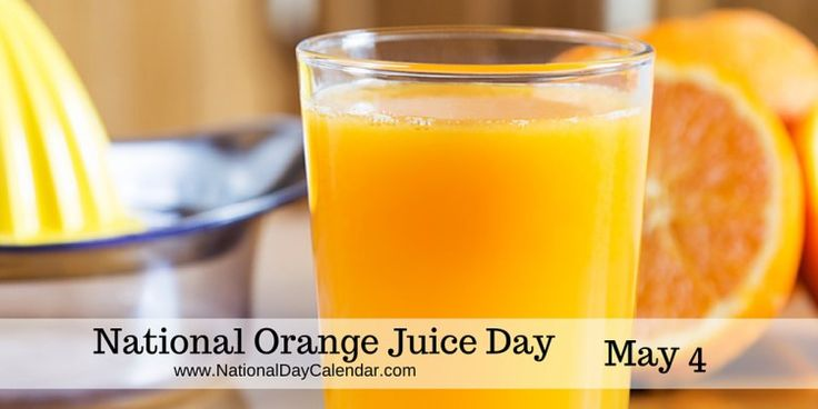 #NationalOrangeJuiceDay ... have you had a glass yet? If not, why not?