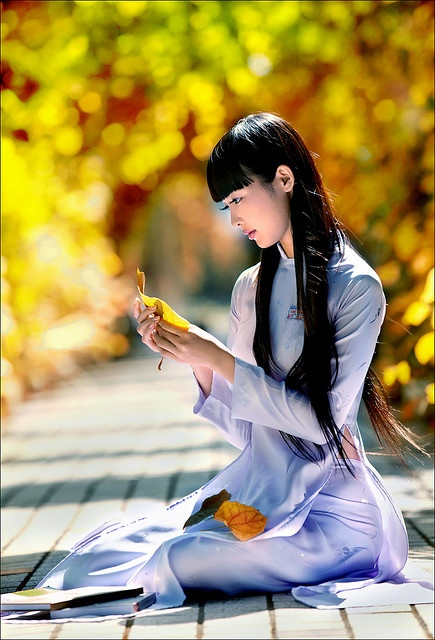 Vietnamese girl by Sang Nguyen