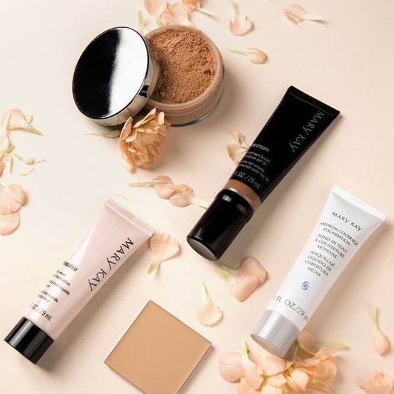 What type of foundation is best for you?  Mary Kay has you covered!