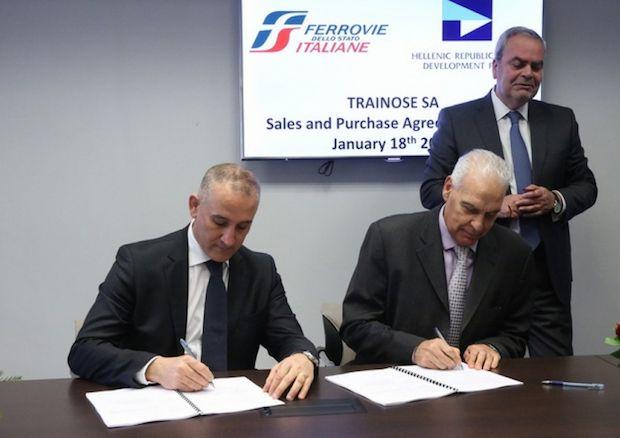 Έναντι 45 εκατ. ευρώ πωλήθηκε η ΤΡΑΙΝΟΣΕ στη Ferrovie dello Stato Italiane Group