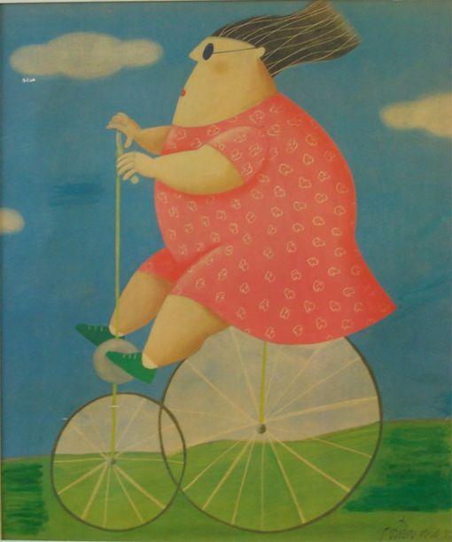 by Brazilian artist Gustavo Rosa (São Paulo, 1946-2013)