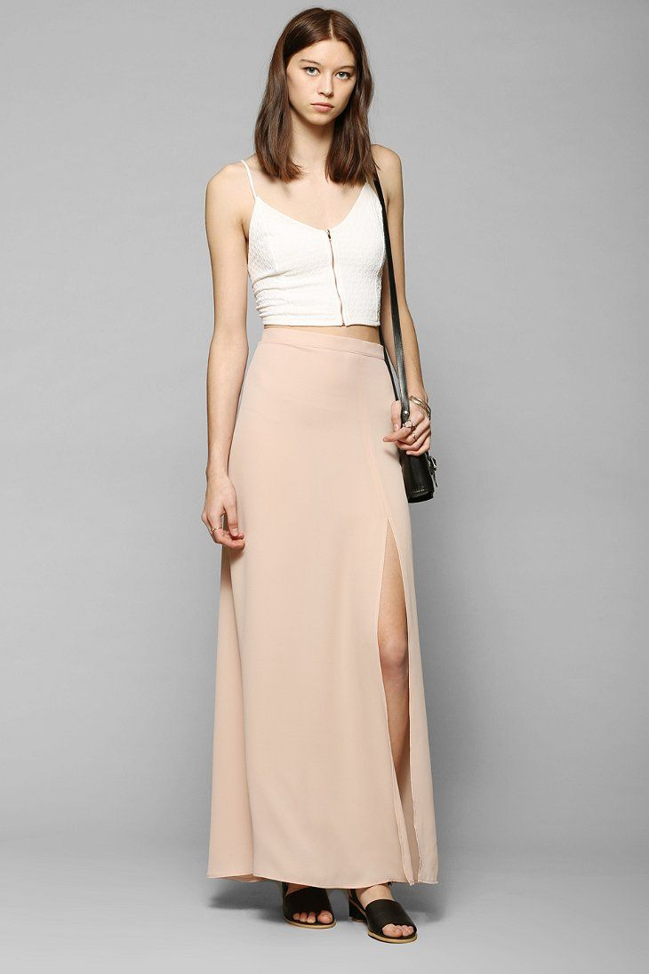 76 best urban outfitters images on pinterest my style urban ra cara slit front maxi skirt at urban outfitters today we carry all the latest styles colors and brands for you to choose from right here ombrellifo Image collections